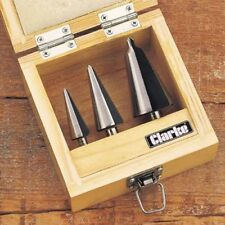 Clarke CHT382 3pc. Tapered Drill Set 1801382