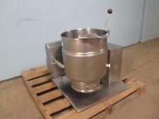"""""""Groen Tdh 20"""" Commercial Hd Natural Gas 20qt. Counter Top Tilting Steam Kettle"""