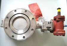 """Fnw Stainless Steel 6"""" Butterfly Valve Cf8M Stem 17-4Ph Seat Me-Ptfe New"""