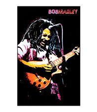 Bob Marley 'Rasta' Blacklight Responsive Poster