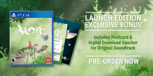 Hoa Launch Edition inc Postcard &Soundtrack PlayStation 4 Physical Disk