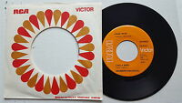 """HANK SNOW - Like a Bird / Rome Wasn't Built in a Day 1970 COUNTRY RCA Victor 7"""""""