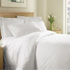 White Solid Twin Extra Long 4 Pc Sheet Set 1000 Thread Count 100%Egyptian Cotton