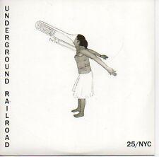 (379C) Underground Railroad, 25 / NYC - DJ CD