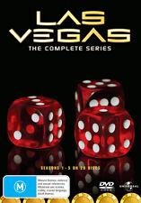 LAS VEGAS The complete Season Series 1, 2, 3, 4 & 5 DVD Box Set R4 New 1 - 5