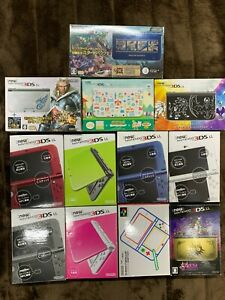 Nintendo new 3DS LL XL Various colors Accessory complete Used Japanese only