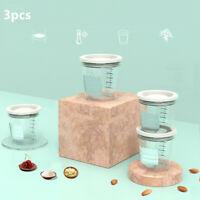 3PCS Baby Infant Travel Milk Powder Formula Dispenser Container Feeding Case Box