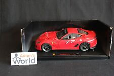 Hot Wheels Elite Ferrari 599 XX 1:18 #77 red (PJBB)