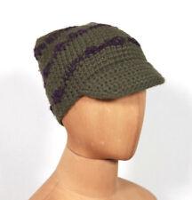 Nuevo Dulzura Replay de Punto Knitware Gorra con Visera Sombrero Noruego TALLA S