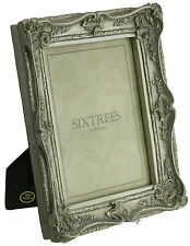 """Shabby & Chic Vintage Very Ornate Antique Silver Photo frame for  8""""x6"""" Picture"""