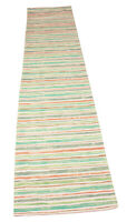 Beachcomber Pastel Stripe Table Runner 15x72 inches