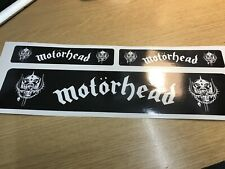 X3 Motorhead Sticker Decal Music Rock Metal Metallica Car Window Laptop lid