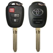OEM 2012 - 2013 Toyota Prius C Remote Head Key 3B - HYQ12BDM - Non Transponder