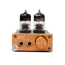 Integrated 6J9 Vacuum Tube (can replace) HIFI Mini Stereo Headphone Amplifier