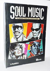 SOUL MUSIC - LA GRANDE STORIA DELLA MUSICA NERA - SERIE COMPLETA 1/15 FASCICOLI