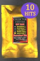 HOCKEY SERIES 8 HOT PACK  10 HITS Random Autographs Game Used Jersey cards etc