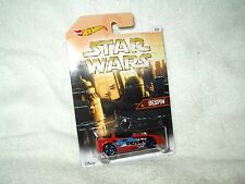 Action Figure Star Wars Hot Wheels Vehicle Car Bespin Silhouette 6 of 8