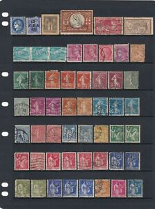 France Stamp Mix Mint & Used & Shades As Per Scans (6 Scans)