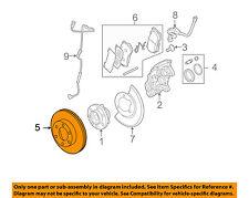 Hummer GM OEM 06-10 H3 Front Brake-Disc Rotor 15202106