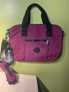 "Kipling Purple MacBook Digibag -tote for 13-15"" NWT -BRAND NEW"