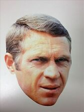 Steve McQueen 'The King of Cool' Fun CARD Single Party Face Mask