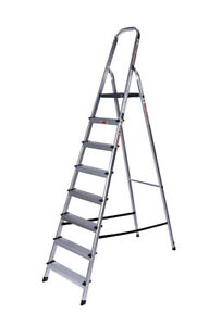 DR LADDER HandyHelper 8 step Household Step Ladder 1710mm platform level