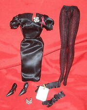 NEW ELIZABETH TAYLOR Violet Eyes Silkstone Barbie Fashion Ensemble FAST SHIPPING
