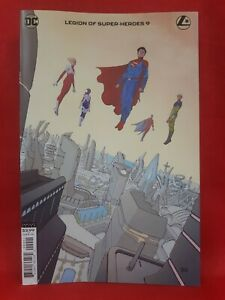 Legion of Super-Heroes #9- CVR B, Andre Lima Araujo, First Print, 2020, VF/NM!