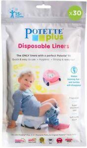 Potette Plus Baby Toddler Disposable Liners Lightly Fragranced - Honest Grocer