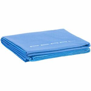 PEARL Schnelltrocknendes Mikrofaser-Badetuch, 180 x 90 cm, blau