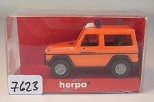 Herpa 1/87 Nr. 042352 MB Mercedes Benz G-Klasse Katastrophenschutz 3 OVP #7623