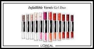 Vernis à Ongles Infaillible Gel Duo Semi-Permanent + top coat L'Oréal