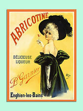 vintage retro style French Liqueur poster image metal sign wall door plaque