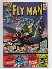 Fly Man #35 (Jan 1966) VG 4.0 Jerry Siegel   Shield backup, Origin of Black Hood