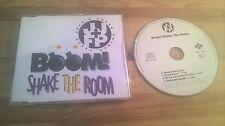 CD Pop Jazzy Jeff / Fresh Prince - Boom! Shake The Room (4 Song) JIVE Will Smith