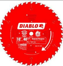 "5 PACK OF FREUD DIABLO D1040X 10"" 40T GENERAL PURPOSE SAW BLADES 5/8"" BORE NEW"