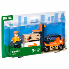 BRIO 33573 Forklift for Wooden Train Set
