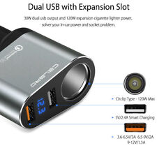 Car Quick Charger Dual USB / Socket for SAMSUNG IPHONE LG SONY HUAWEI HTC Xiaomi