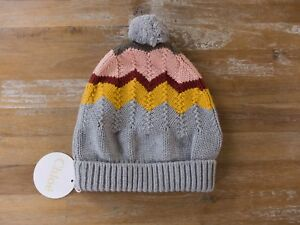 CHLOE Paris cotton wool mix beanie hat authentic - Size 56 / XS - NWT