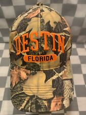 DESTIN Florida Camouflage Camo Adjustable Adult Cap Hat
