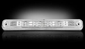 RECON CLEAR LED THIRD 3RD BRAKE LIGHT LENS FOR 94-98 GMC C1500 C2500 C3500