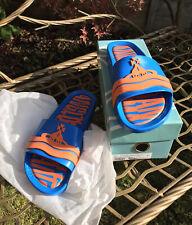 Melissa/Vivienne Westwood Orange/Blue Sliders 6UK/39EU