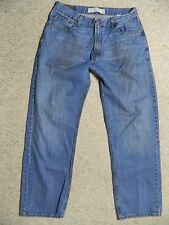 LEVI LEVIS BRAND 569 LOOSE STRAIGHT JEANS MENS TAG 34x34 MEASURE 34x33 READ!!