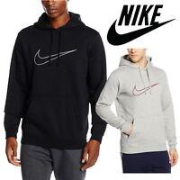 Nike Men's NSW GX Fleece Hoodies Swoosh Logo Sports Sweatshirt Hooded Top