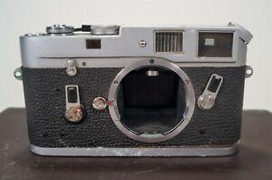 Vintage 1966 Leica M4 35mm Film Camera s/n 1176052