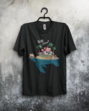 Turtle Island  Men's T-shirt  Dragon Ball, Kame house , Son Goku, Anime , Manga