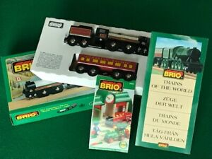 BRIO 33431 CANADIAN PACIFIC for WOODEN TRAIN & THOMAS & FRIENDS ENGINE SET