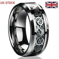 """metal band Simple and effective UK size L positive affirmation ring /""""LUCK/"""""""