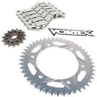 Vortex GFRS Go Fast Street Chain and Sprocket Kit Gold CKG4103