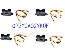 4pcs Sharp GP2Y0A02YK0F Infrared IR Proximity Sensor Detect 20-150cm with Cable